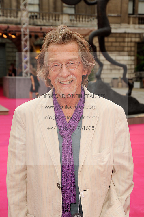 JOHN HURT at the Royal Academy of Arts Summer Party held at Burlington House, Piccadilly, London on 9th June 2010.