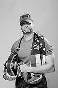 Brian Paul<br /> Army (Guard & Active)<br /> E-5<br /> Infantry<br /> 1994-09/98<br /> Oklahoma City Bombing<br /> <br /> (Veterans Portrait Project Photos by Stacy L. Pearsall
