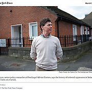 """Screengrab of """"House Repossessions in Ireland"""" published in The New York Times"""