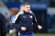 Leicester City midfielder Marc Albrighton (11)  during the Barclays Premier League match between Leicester City and Newcastle United at the King Power Stadium, Leicester, England on 14 March 2016. Photo by Simon Davies.