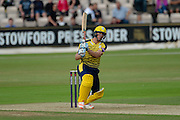 Ryan McLaren of Hampshire during the NatWest T20 Blast South Group match between Hampshire County Cricket Club and Somerset County Cricket Club at the Ageas Bowl, Southampton, United Kingdom on 29 July 2016. Photo by David Vokes.