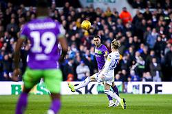 Jack Hunt of Bristol City takes on Ezgjan Alioski of Leeds United - Mandatory by-line: Robbie Stephenson/JMP - 24/11/2018 - FOOTBALL - Elland Road - Leeds, England - Leeds United v Bristol City - Sky Bet Championship