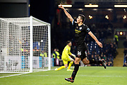 Manchester City midfielder Rodri (16) celebrates his goal 0-3  during the Premier League match between Burnley and Manchester City at Turf Moor, Burnley, England on 3 December 2019.