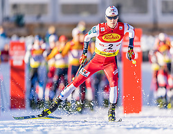31.01.2020, Seefeld, AUT, FIS Weltcup Nordische Kombination, Langlauf, Gundersen 5 Km, im Bild Harald Johnas Riiber (NOR) // Harald Johnas Riiber of Norway during the Gundersen 5 Km Cross Country Competition of FIS Nordic Combined World Cup at the Seefeld, Austria on 2020/01/31. EXPA Pictures © 2020, PhotoCredit: EXPA/ Stefan Adelsberger