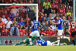 Bournemouth hits the crossbar - Mandatory by-line: Jason Brown/JMP - 24/09/2016 - FOOTBALL - Vitality Stadium - Bournemouth, England - AFC Bournemouth v Everton - Premier League