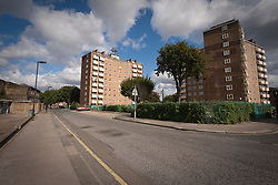 Council housing Haringey, London UK