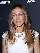 Sarah Jessica Parker attends the 2014 AOL Newfront at the Duggal Greenhouse in the Brooklyn Navy Yard in Brooklyn, New York in April 29, 2014.