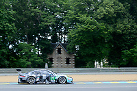 Richard Lietz (AUT) / Michael Christensen (DNK) / Philipp Eng (AUT) #77 Dempsey Proton Racing Porsche 911 RSR, . Le Mans 24 Hr June 2016 at Circuit de la Sarthe, Le Mans, Pays de la Loire, France. June 15 2016. World Copyright Peter Taylor/PSP.