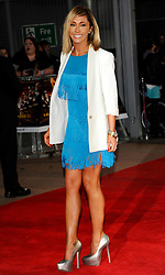 Jenny Frost  at the premiere of The Hunger Games in  London, Wednesday 14th March 2012. Photo by: i-Images