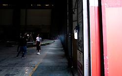 BTS images of music video being shot in the YTL Brabazon Hangers  - Joe Meredith/JMP - 03/04/2019 - COMMERCIAL - YTL Developments - Bristol, England - YTL Arena Development at the Brabazon Hangar
