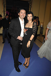 BRYAN MEEHN and ALI HEWSON at the 10th Anniversary Party of the Lavender Trust, Breast Cancer charity held at Claridge's, Brook Street, London on 1st May 2008.<br />