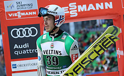 03.02.2017, Heini Klopfer Skiflugschanze, Oberstdorf, GER, FIS Weltcup Ski Sprung, Oberstdorf, Skifliegen, im Bild Andreas Sternen (NOR) // Andreas Sternen (NOR) during mens FIS Ski Flying World Cup at the Heini Klopfer Skiflugschanze in Oberstdorf, Germany on 2017/02/03. EXPA Pictures © 2017, PhotoCredit: EXPA/ Sammy Minkoff<br /> <br /> *****ATTENTION - OUT of GER*****