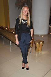 MARTHA WARD at a Burns Night dinner in aid of cancer charity CLIC Sargent held at St.Martin's Lane Hotel, London on 25th January 2011.