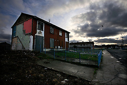 IRELAND LIMERICK 9FEB09 - Moyross housing estate in northern Limerick, western Ireland. Traditionally an impoverished part of the city, Moyross has suffered from high levels of unemplyment, crime and violence. ..jre/Photo by Jiri Rezac..© Jiri Rezac 2009