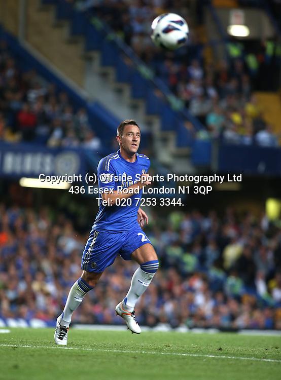 22 August 2012 Premier League football. Chelsea v Reading.<br /> John Terry.<br /> Photo: Mark Leech.