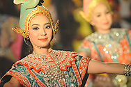 Thai traditional dancer Bangkok Thailand