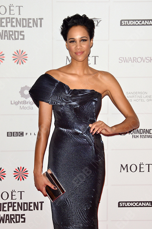 09.DECEMBER.2012. LONDON<br /> <br /> ZAWE ASHTON ATTENDS THE BRITISH INDEPENDENT FILM AWARDS AT OLD BILLINGSGATE MARKET. <br /> <br /> BYLINE: JOE ALVAREZ/EDBIMAGEARCHIVE.CO.UK<br /> <br /> *THIS IMAGE IS STRICTLY FOR UK NEWSPAPERS AND MAGAZINES ONLY*<br /> *FOR WORLD WIDE SALES AND WEB USE PLEASE CONTACT EDBIMAGEARCHIVE - 0208 954 5968*