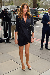 © Licensed to London News Pictures. 08/03/2016. LISA SNOWDON arrives for the TRIC Awards. The Television and Radio Industries Club's annual awards ceremony, honour's the best performers and programmes  of the last year .London, UK. Photo credit: Ray Tang/LNP