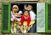 Family group in Cairo, Egypt