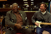 BB King at Olympic Studios London -  with Eric Clapton 2005