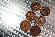 Betim_MG, Brasil.<br /> <br /> Insetos criados na Nutrinsecta para consumo humano  animal. Na foto grilo, baratas e larvas de tenebre.<br /> <br /> Insects created in Nutrinsecta for human and animal consumption. In this photo crickets,  cockroaches and Tenebrio molitor.<br /> <br /> FotoJOAO MARCOS ROSA / NITRO