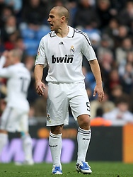 Real Madrid's Fabio Cannavaro during La Liga match.January 18 2009.