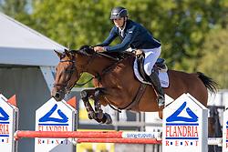 Van Dyck Ruben, BEL, Joline van het Exelmanshof<br /> Belgisch Kampioenschap Jeugd Azelhof - Lier 2020<br /> © Hippo Foto - Dirk Caremans<br /> 02/08/2020