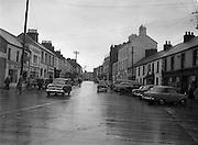 30/03/1957 <br /> Views of towns in Ireland. Main Street, Portlaoise, Co. Leix (Laois).