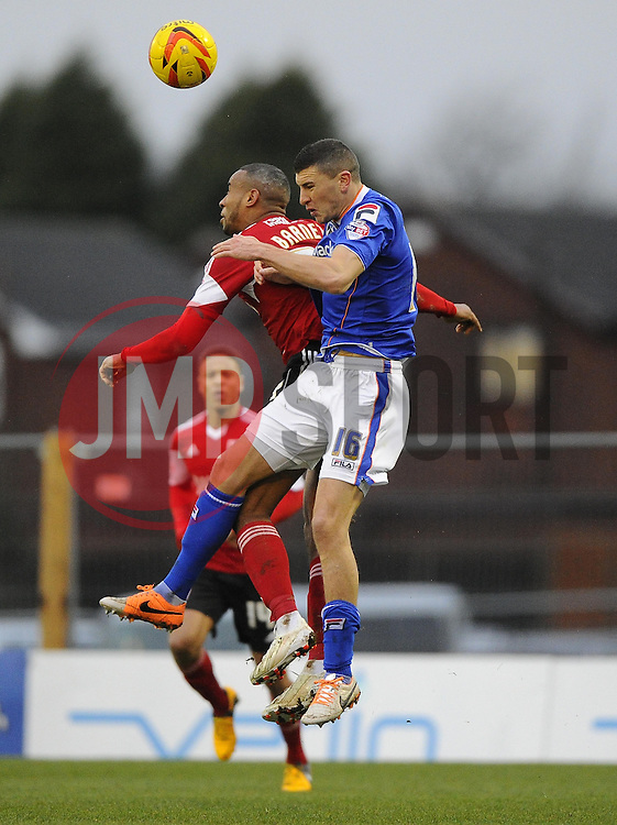 - Photo mandatory by-line: Joe Meredith/JMP - Tel: Mobile: 07966 386802 08/02/2014 - SPORT - FOOTBALL - Oldham - Boundary Park - Oldham Athletic v Bristol City - Sky Bet League One