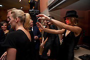 KATE WINSLET; ; NATALIA VODIANOVA, Mario Testino exhibition.  Hosted by Vanity Fair Spain and Lancome. Thyssen-Bornemisza Museum (Paseo del Prado 8, Madrid.20 September 2010.  -DO NOT ARCHIVE-© Copyright Photograph by Dafydd Jones. 248 Clapham Rd. London SW9 0PZ. Tel 0207 820 0771. www.dafjones.com.