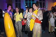 VALERIA NAPOLEONE; VICTORIA SIDDALL;  ALICE RAWTHORN; STEFANIA PRAMMA; ;  Pop party. the birthday celebration of twin sisters Valeria Napoleone and Stefania Pramma. Studio Voltaire, London SW4. 17 May 2013.