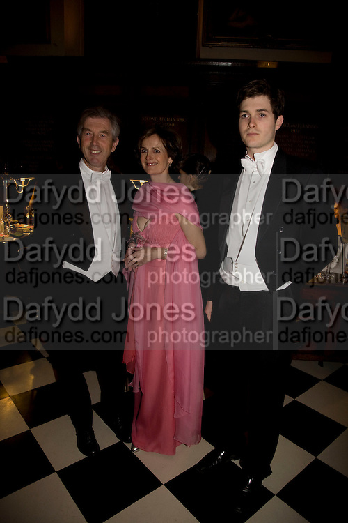 THE DUKE AND DUCHESS OF SOMERSET,  LORD SEYMOUR. The 2008 Berkeley Dress Show in aid of the Leonard Cheshire Disability ( India) . The Royal Hospital, Chelsea. London. 3 April 2008.  *** Local Caption *** -DO NOT ARCHIVE-© Copyright Photograph by Dafydd Jones. 248 Clapham Rd. London SW9 0PZ. Tel 0207 820 0771. www.dafjones.com.
