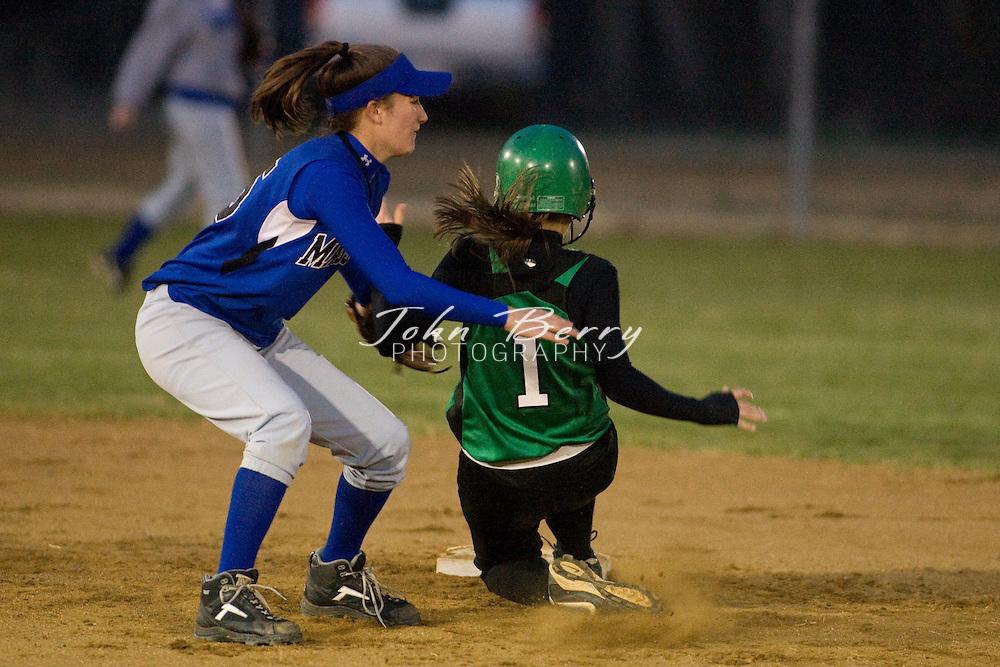 MCHS Varsity Softball.vs William Monroe.3/25/2008..