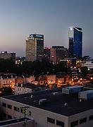 Lexington Kentucky skyline  on Wednesday August 18 , 2010 in Lexington, Ky. Photos by Mark Cornelison | Staff