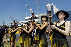 July 30, 2017 - Budapest, Hungary - Motorsports: FIA Formula One World Championship 2017, Grand Prix of Hungary, ..Grid Girls  (Credit Image: © Hoch Zwei via ZUMA Wire)