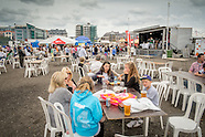Portugese food fayre, waterfront 2014