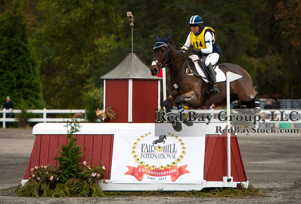 Jan Byyny (USA) and Inmidair at The Dutta Corp Fair Hill International in Fair Hill, Maryland.