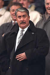 COVENTRY, ENGLAND - Saturday, April 6, 1996: Liverpool's Chairman David Moores during the Premiership match against Coventry City at Highfield Road. Coventry won 1-0. (Pic by David Rawcliffe/Propaganda)