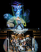 Iron Maiden performs live in Concert at Chicago's Tweeter Center.