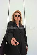 Venice Art Biennale 1997. Self-portrait by Rebecca Horn / Biennale Arte di Venezia 1997. Autoritratto di Rebecca Horn - © concept photo Marcello Mencarini