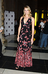 Model JODIE KIDD at the 2005 British Fashion Awards were held at The V&A museum, London on 10th November 2005.<br />