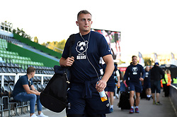Sam Bedlow and the rest of the Bristol Bears team arrive at the Stoop - Mandatory byline: Patrick Khachfe/JMP - 07966 386802 - 20/09/2019 - RUGBY UNION - The Twickenham Stoop - London, England - Harlequins v Bristol Bears - Premiership Rugby Cup