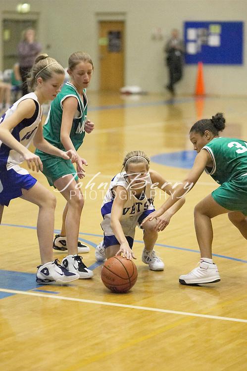 MCHS 8th Grade Girls..vs Greene..Fourth Period..December 13, 2004