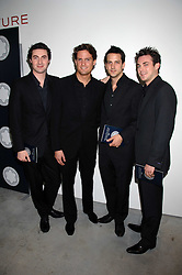 Brit Award nominated band BLAKE (Oliver Baines, Stephen Bowman, Jules Knight and Dominic Tigheat) at the Montblanc de la Culture Arts Patronage Award 2008 presented to Louise Blouin MacBain at the Louise Blouin MacBain Institute, 3 Olaf Street, London W11 on 16th April 2008.<br />