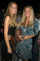 Left to right, sisters MISS FLORENCE BRUDENELL-BRUCE and MISS CHRISTABELLE BRUDENELL-BRUCE at a party hosted by Frankie Dettori, Marco Pierre White and Edward Taylor to celebrate the launch of Frankie's Italian Bar & Grill at 3 Yeoman's Row, London SW3 on 2nd September 2004.