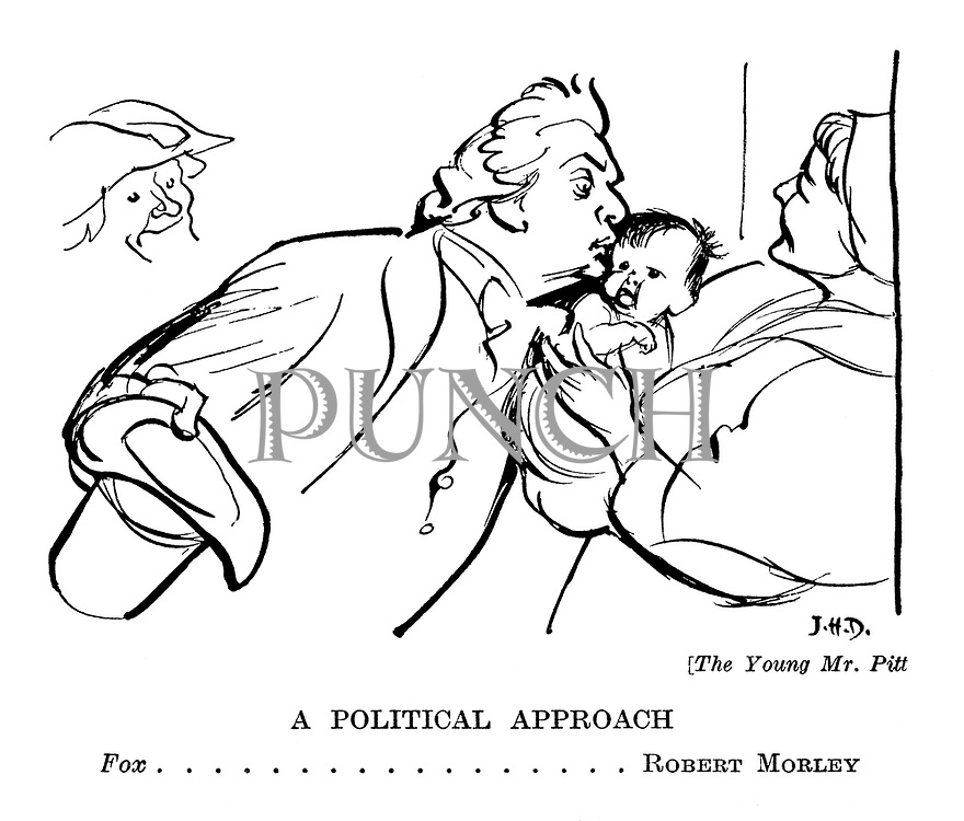 The Young Mr Pitt: A Political Approach. Fox...Robert Morley [The Young Mr Pitt]