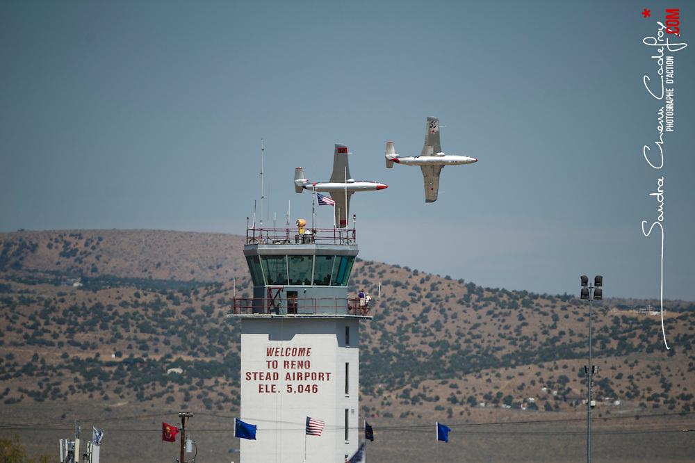 Participation du nemesis des français de l'équipe Big Frog aux Reno Air Race 2011, course de pylônes la plus rapide du monde.<br /> Septembre 2011 / Reno / Nevada / USA