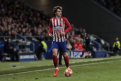 February 20, 2019 - Madrid, Madrid, Spain - Atletico de Madrid's Antoine Griezmann celebrates goal during UEFA Champions League match, Round of 16, 1st leg between Atletico de Madrid and Juventus at Wanda Metropolitano Stadium in Madrid, Spain. February 20, 2019. (Credit Image: © A. Ware/NurPhoto via ZUMA Press)