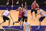 Sassari 20 Agosto 2012 - Qualificazioni Eurobasket 2013 - Allenamento<br /> Nella Foto : PIETRO ARADORI<br /> Foto Ciamillo/Castoria