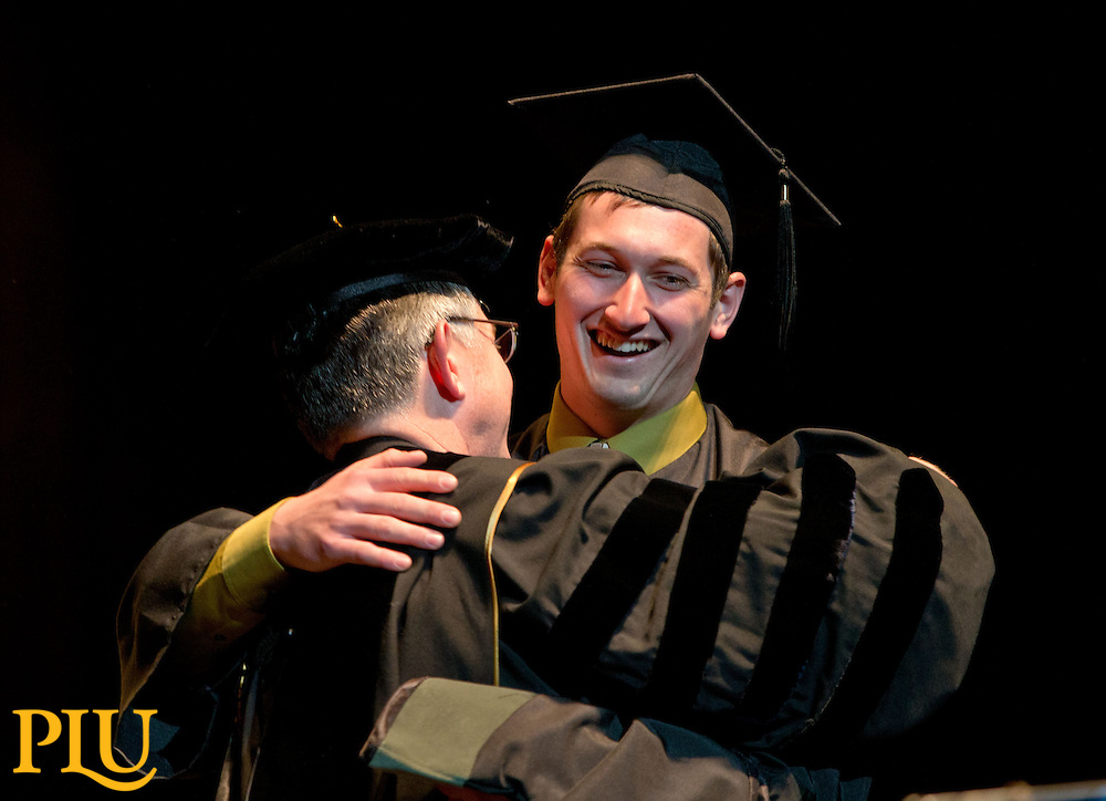 Pacific Lutheran University Commencement at the Tacoma Dome on Saturday, May 24, 2014. (Photo/John Froschauer)